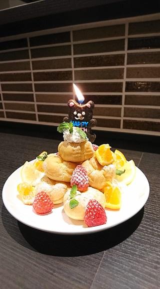 誕生日・記念日の方にサプライズスイーツプレゼント!!
